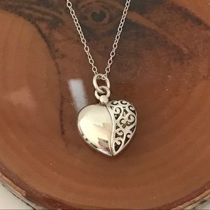 Sterling Silver Heart Necklace 💖